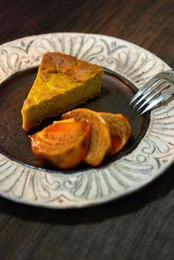 パンプキンチーズケーキ016