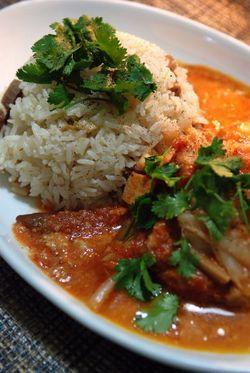 タイ米炊き込みご飯