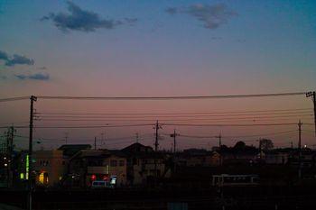 冬の夕焼け (2)