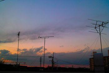 冬の夕焼け (3)