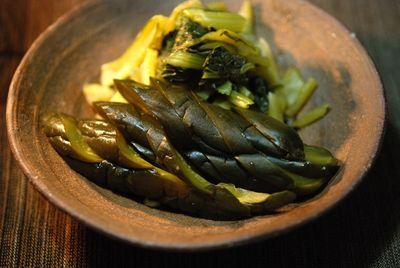 胡瓜の自家製奈良漬