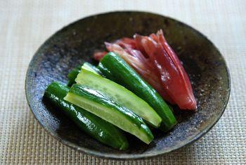 茗荷料理 (4)