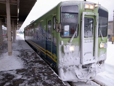 秋田への旅と駅弁 (2)