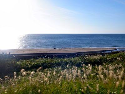 車窓から 海岸線を行く