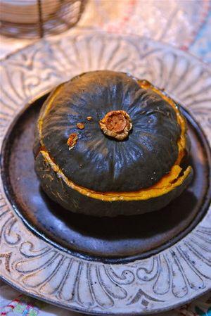 坊っちゃんかぼちゃの根菜詰め-2