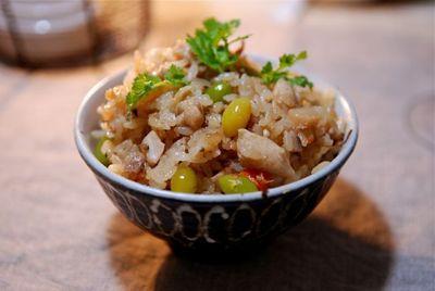 根菜の炊き込み御飯