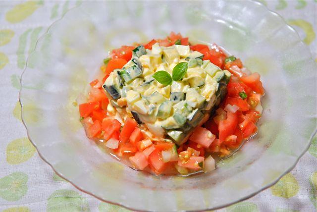 ズッキーニのタルタルサラダ