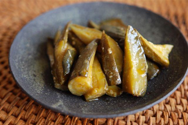 胡瓜の甘酢炒め