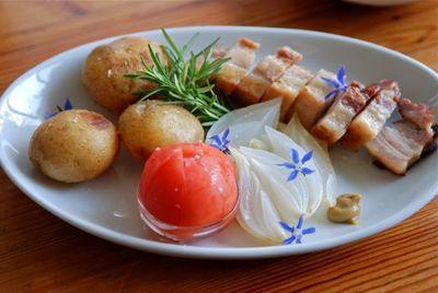 豚バラ肉のポットロースト