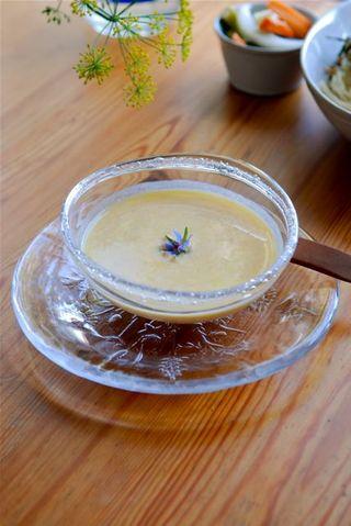 バターナッツ南瓜のヨーグルトスープ