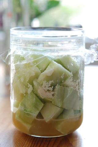 摘果メロンの甜菜糖漬け