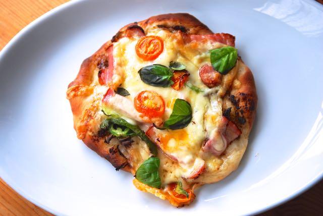 無念のピザ-2