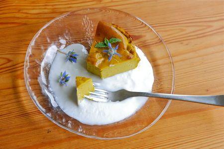 カボチャのケーキ-2