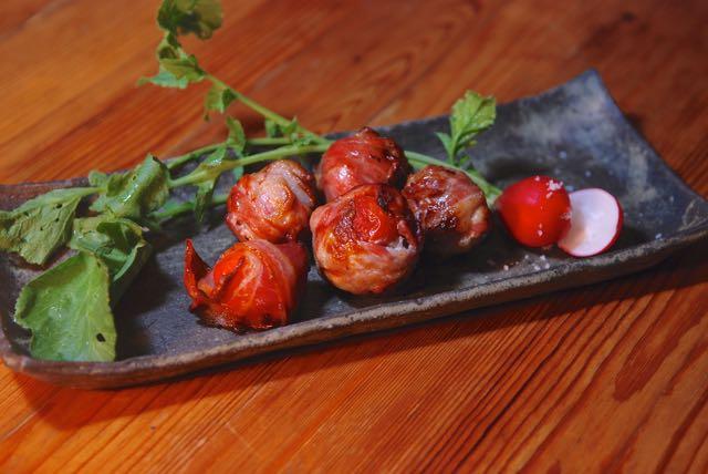 豚バラトマト巻き