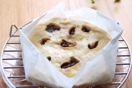 イチジクの蒸しパン