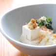 豆腐と新玉葱と春菊のおひたし