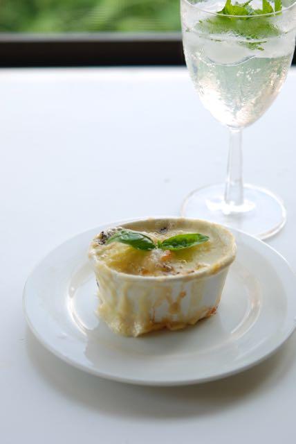ジャガ芋と海老のグラタンゴルゴンゾーラ