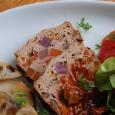 彩り野菜のミートローフ (1)