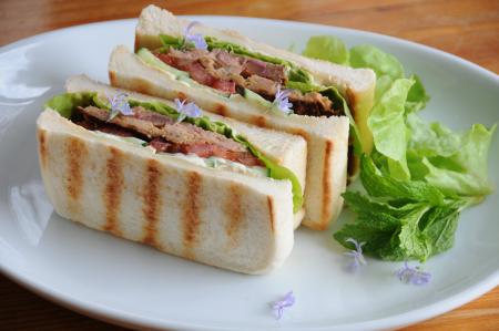ミートローフのサンドイッチ