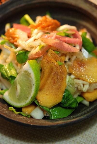 茗荷料理 (2)
