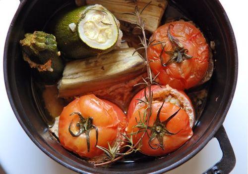 夏野菜のファルシ